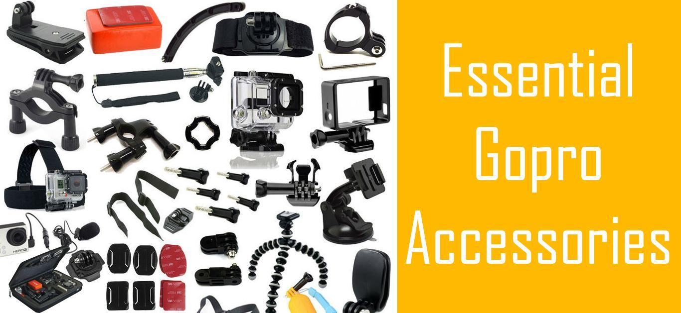 Go Pro Accessories and Mounts To Make The Most Of This Solution!