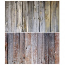 Faded wood Double Sided Background For Product Photography
