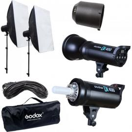GODOX DE-400 Strobe Light Kit