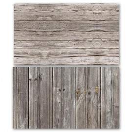 Grey Wooden Double Sided Background for Product Photography