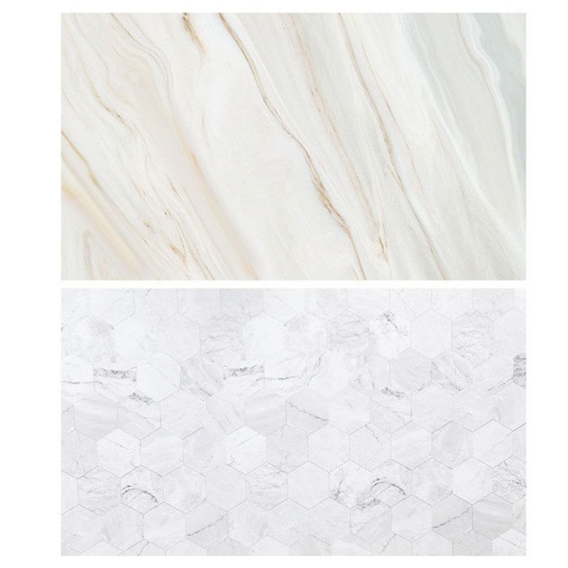 Honeycomb marble Double Sided Background For Product Photography