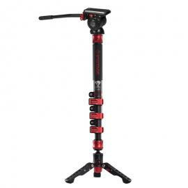 IFootage Cobra 2 C120-II Carbon Fiber Monopod with Komodo K5 Fluid Head
