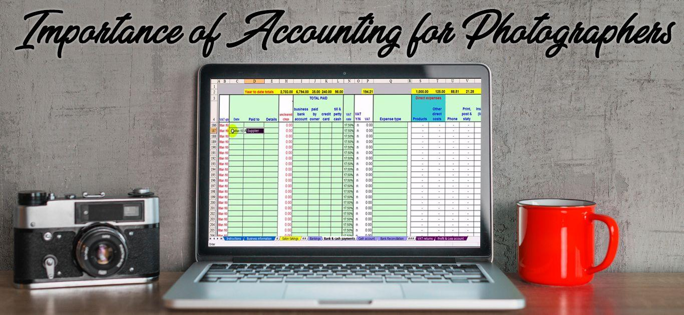 Importance of Accounting for Photographers
