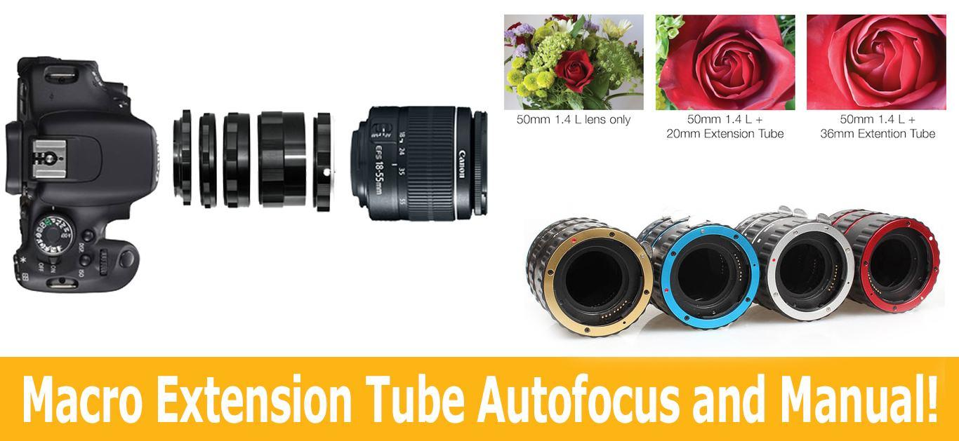 Everything A Professional Photographer Should Know About Macro Extension Tube Autofocus and Manual!