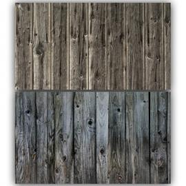 Narrow Vintage Wooden Double Sided Background for Product Photography