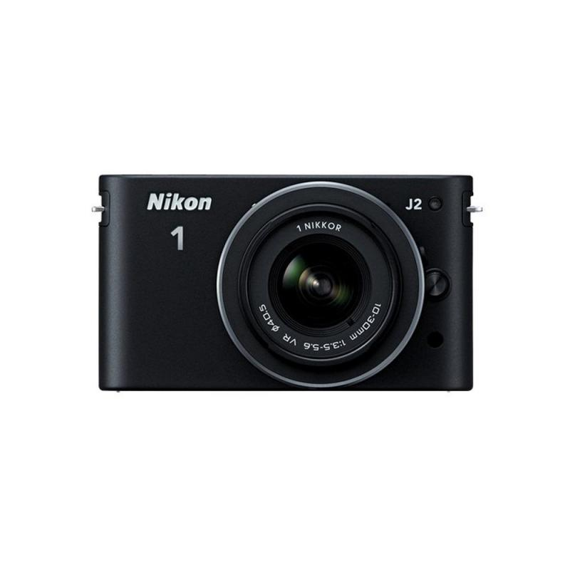 Nikon 1 j-2 Zoom Mirrorless Digital Camera with 10-30mm and 30-110mm (Black)