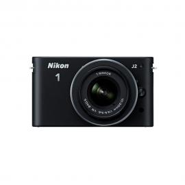 Nikon 1 j-2 Zoom Mirrorless Digital Camera with 10-30mm (Black)