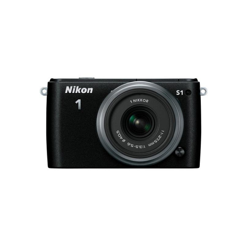 Nikon 1 S1 Zoom Mirrorless Digital Camera with 10-30mm and 30-110mm Lens