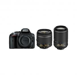 Nikon D-5300 with 18-55mm and 55-200mm VR II Lens