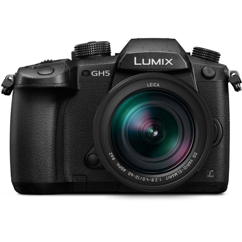 Panasonic Lumix DC-GH5 Mirrorless Digital Camera with 12-60mm Lens
