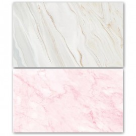 Pink and White Marble Double Sided Background for Product Photography