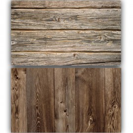 Realistic Wooden Double Sided Background for Product Photography