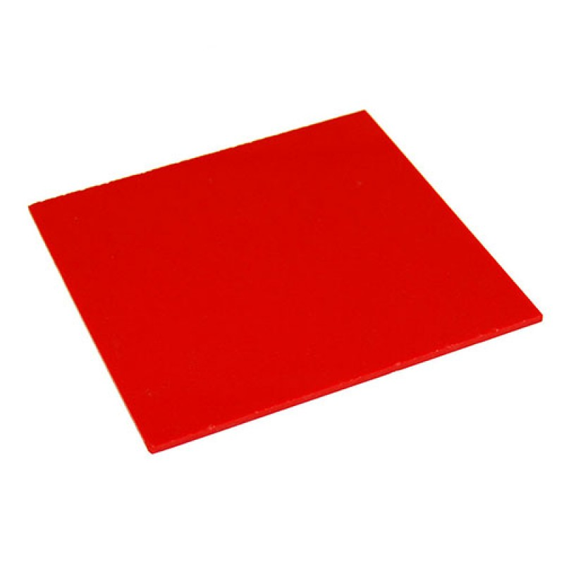Reflective Board Red 2ft By 2ft