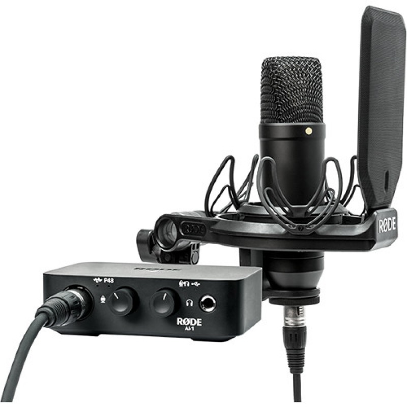 Rode NT1 Complete Studio Kit with AI-1 Audio Interface