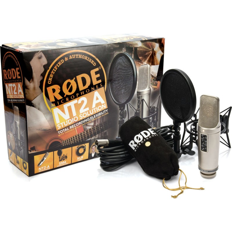 Rode NT2-A Studio Solution Package