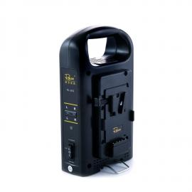 Rolux Dual Battery Charger for V-Mount Batteries