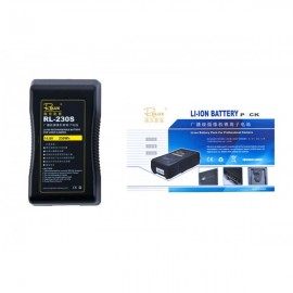 Rolux Lithium-ion 230Wh V-Mount Battery