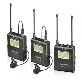 UHF Wireless Microphone Kit UwMic9 (TX9 +TX9 +RX9)