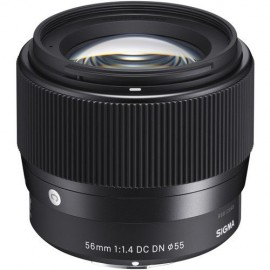 Sigma 56mm f/1.4 DC DN Contemporary Lens for MFT-Mount