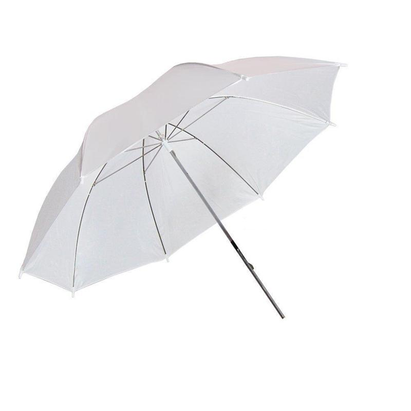 33inch White Translucent Umbrella