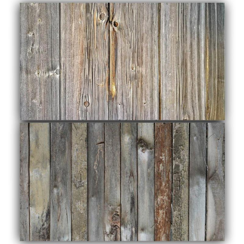 Vintage Wooden Double Sided Background for Product Photography