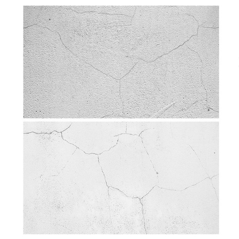 white cracked wall Double Sided Background For Product Photography
