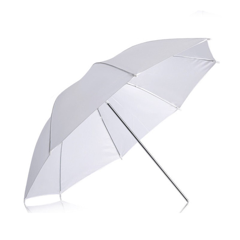43inch White Translucent Umbrella