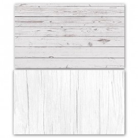 White Wooden Double Sided Background for Product Photography