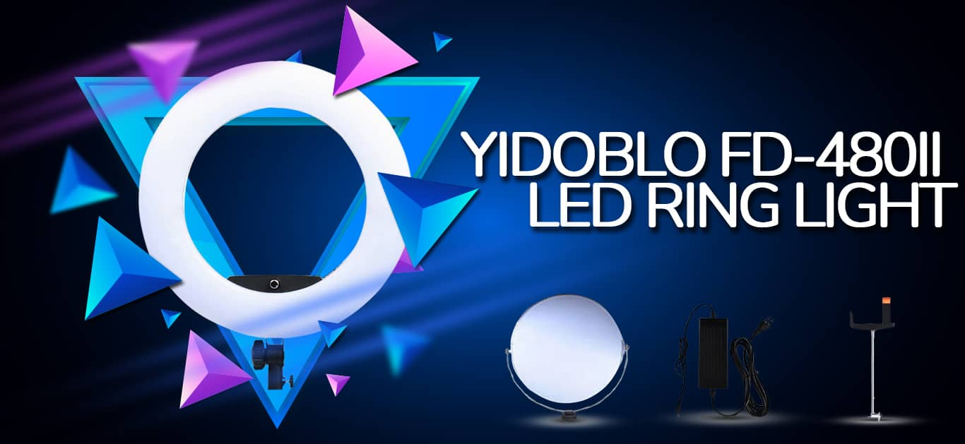 10 Gigantic Influences Of Yidoblo FD-480 Ring Light For A Photoshoot