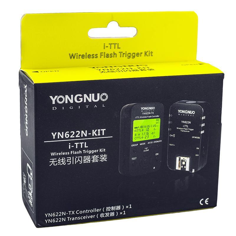 Yongnuo YN-622N i-TTL Wireless Flash Transceiver Kit for Nikon